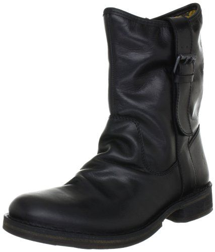 Fly London NOTA, Damen Biker Boots, Schwarz (Black 005), 42 EU (9 Damen UK) - http://on-line-kaufen.de/fly-london/42-eu-9-damen-uk-fly-london-nota-damen-biker-boots-3
