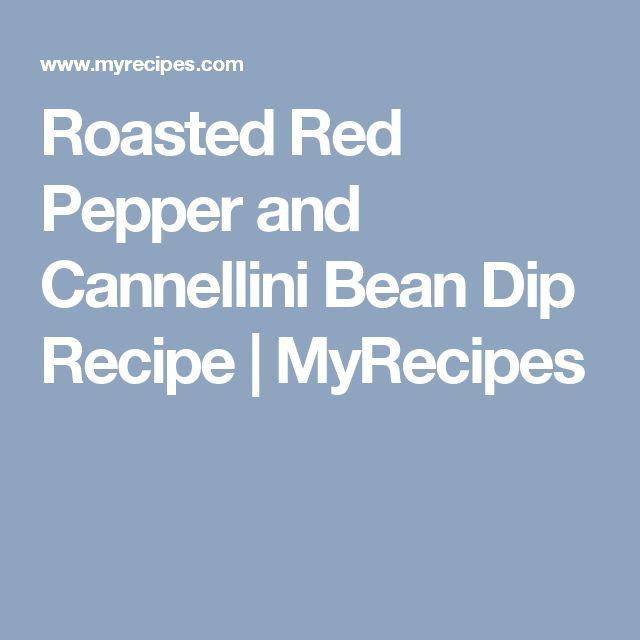 Roasted Red Pepper and Cannellini Bean Dip Recipe | MyRecipes