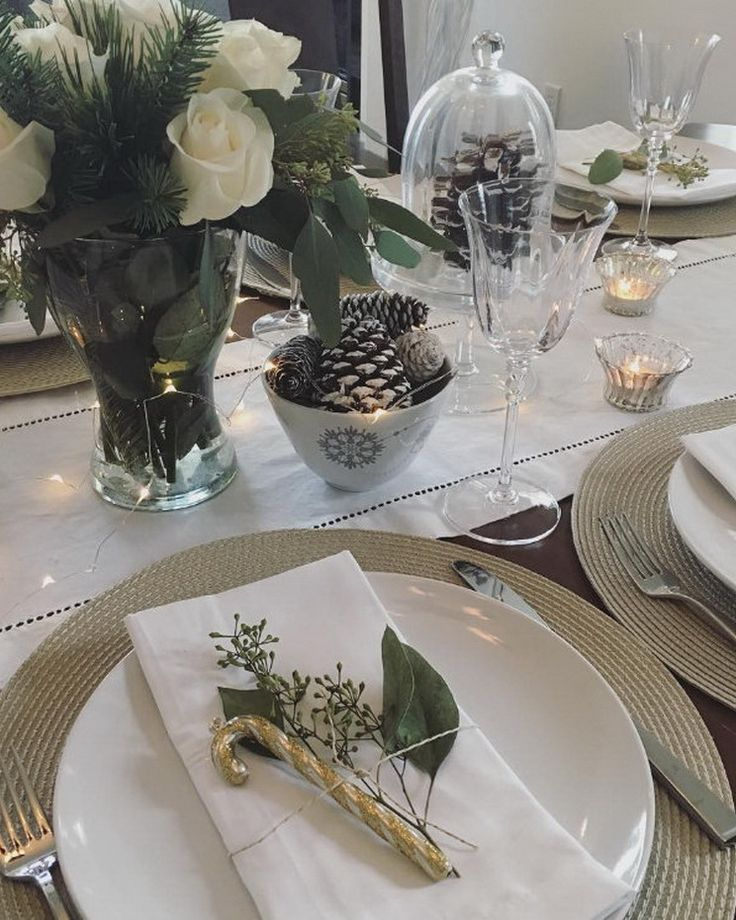 @lifeisbetterathome Turkey is in the oven and my #tablescape is set 🙌 Hope…