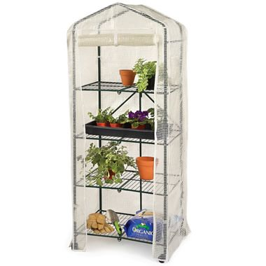 The Foldaway Greenhouse - Hammacher Schlemmer