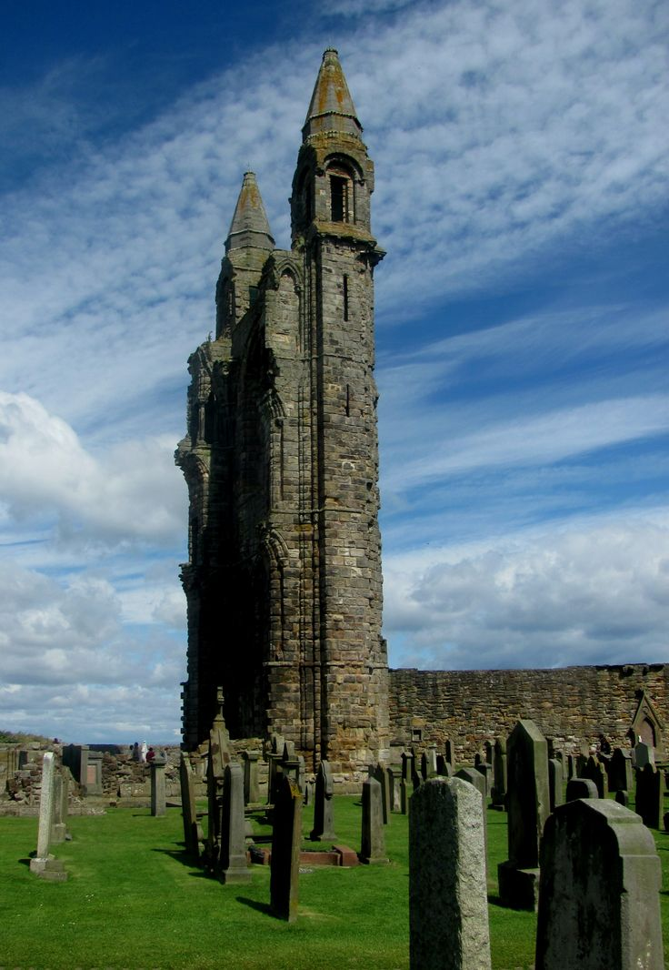 Scotland, St. Andrews cathedral