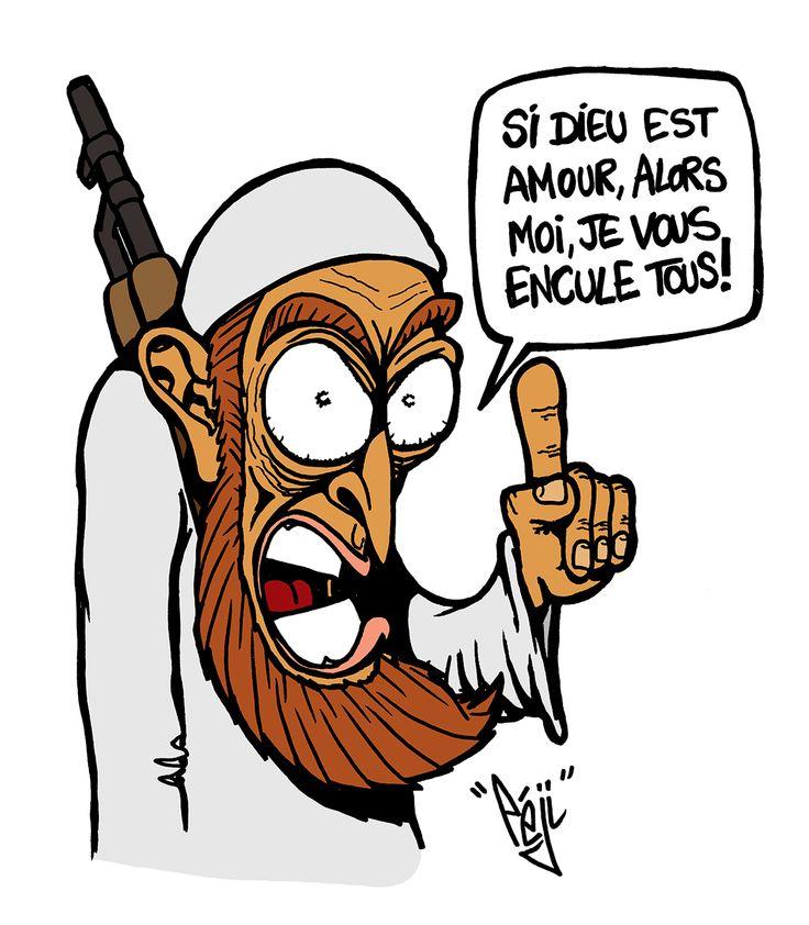 P ji dessin daesh message d 39 amour caricatures et - Desin d amour ...