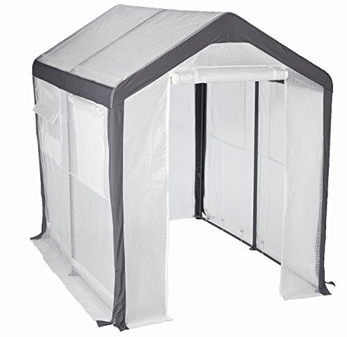 Cheap Greenhouse-Spring Gardener Peak Roof Walk In Portable Garden Hot House Fully Enclosed  Screend Windows for Ventilation Zippered Door (6W x 8L x 7H) Small Hobby Greenhouse for decks patios porches backyards https://ledgrowlightsusa.info/cheap-greenhouse-spring-gardener-peak-roof-walk-in-portable-garden-hot-house-fully-enclosed-screend-windows-for-ventilation-zippered-door-6w-x-8l-x-7h-small-hobby-greenhouse-for-decks-pati/