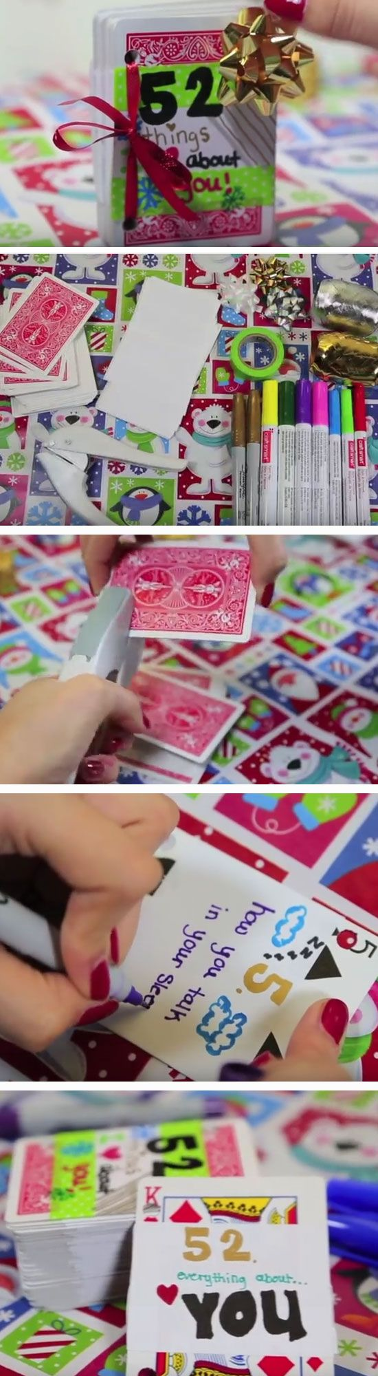 52 Things I Love About You | 35 + DIY Christmas Gifts for Teen Girls