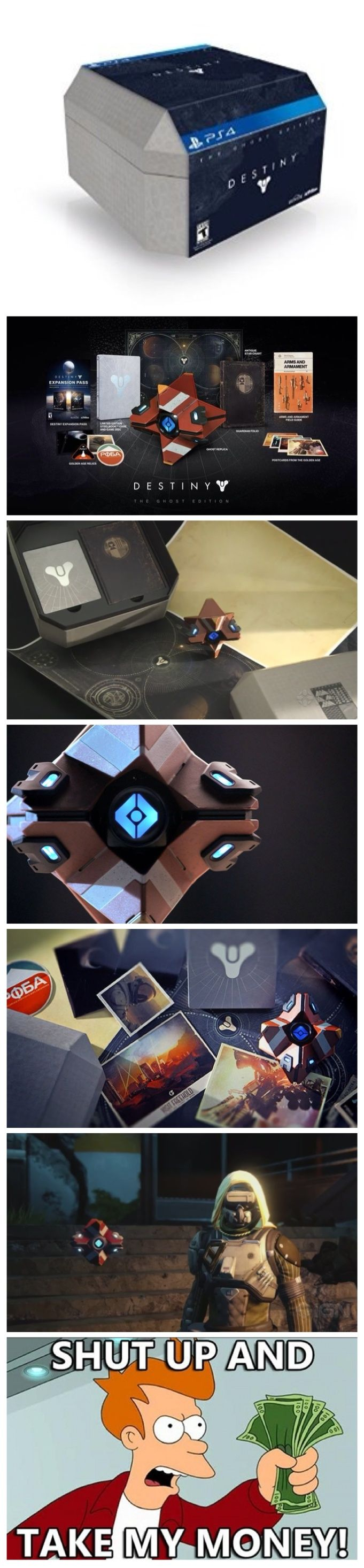 Destiny Ghost Edition : I remember seeing someone with that red ghost wondering where the heck they got it from.
