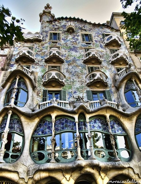 World's Most Beautiful and Spectacular Buildings: Art Nouveau Architects – Inspired by Nature | Quazen