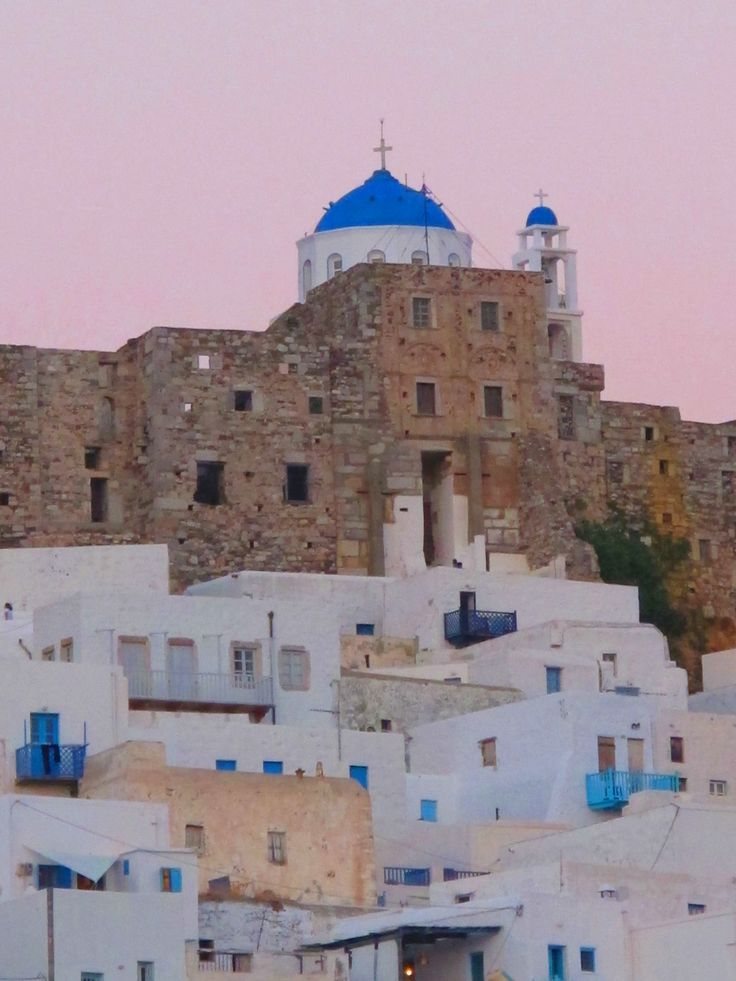 the colorful yet white #Astypalaia island