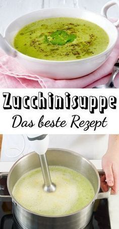 Rezept fur zucchini cremesuppe