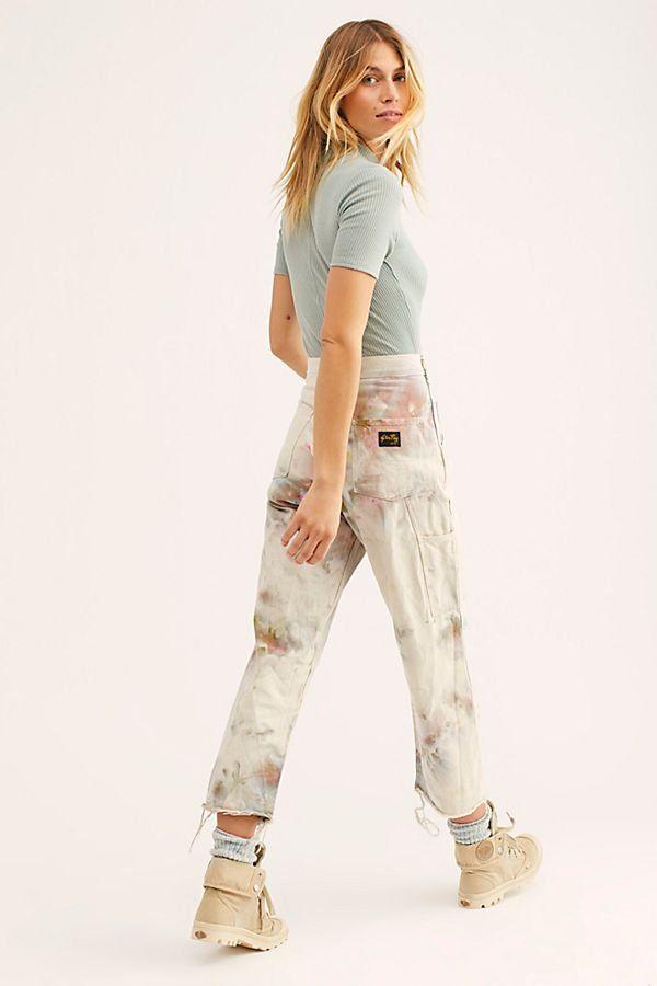 04c57ba39f2 Tie Dye Utility Pant - Tie Dye Pants - Riverside Tool   Dye - Hand Dyed  Trousers - Utility Pants - Dyed Utility Pants - Artist Pants - Cargo Pants