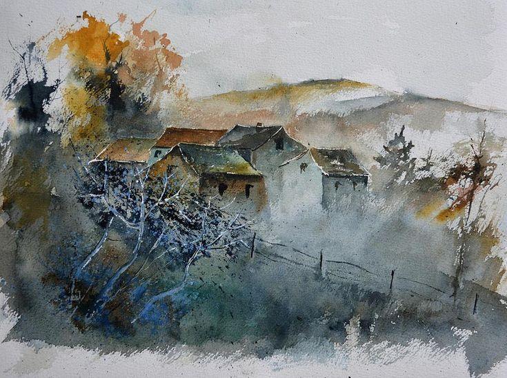 Картинки по запросу giclee painting: ledent's watercolor 511032, 51x41in.