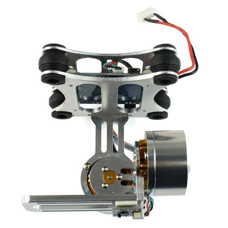 (38.50$)  Buy here  - F06885 Aluminum 2-Axle Brushless Gimbal Camera Mount Controller Plug&Play for DIY DJI Quadcopter Trex 500 550 Aircraft No Manual