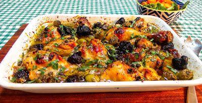 HAPPY RETIREES KITCHEN: Mediterranean Chicken Marbella Recipe, a touch of ...