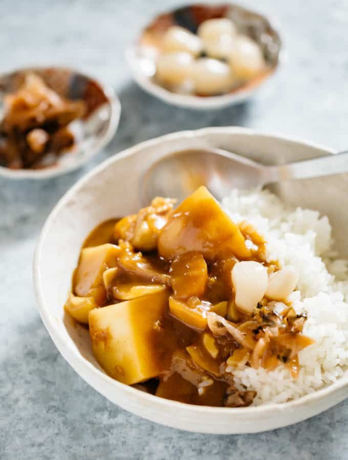 Japanese Curry Rice Recipe In 2020 Recipes Curry Rice Japanese Curry