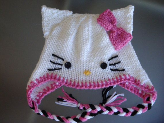 Hello Kitty Mittens Knitting Pattern : 17 Best images about Knitting Patterns on Pinterest Perler bead patterns, P...
