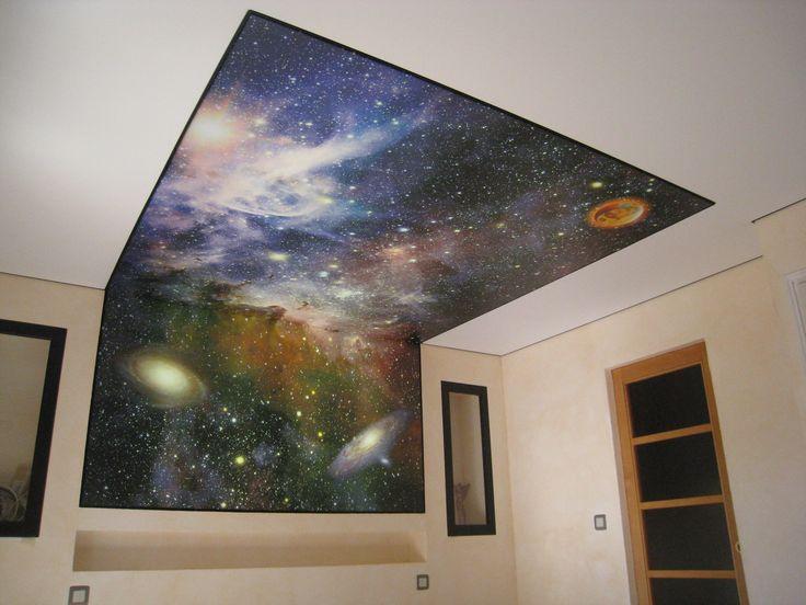 les 25 meilleures id es de la cat gorie plafond tendu sur. Black Bedroom Furniture Sets. Home Design Ideas