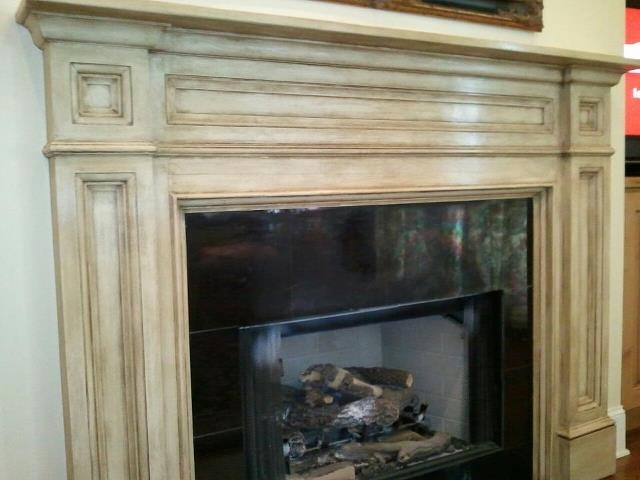 Transformed mantle with Annie Sloan Chalk Paint & Waxes