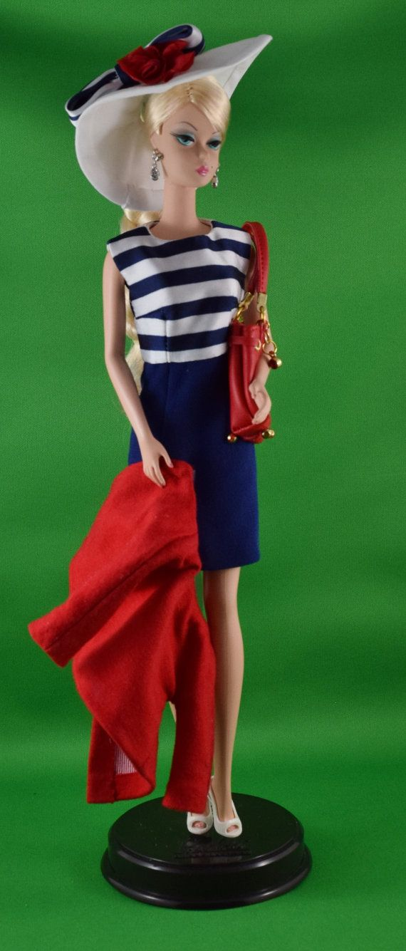 Silkstone Barbie Red White and Blue Set SPECIAL by ShhDollWorks