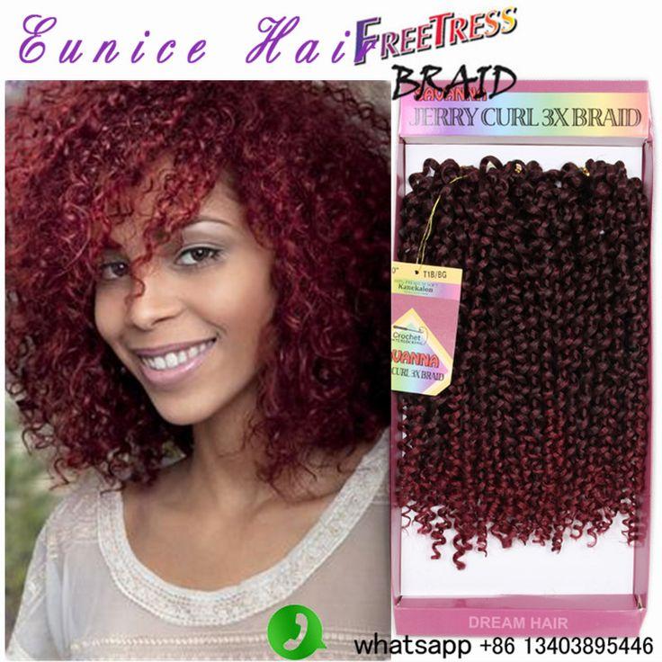 Deep Twist Synthetic Hair Freetress braids in bundles 3pcs