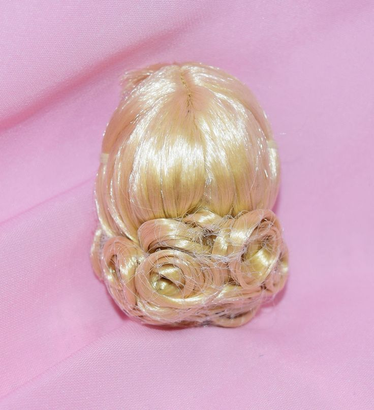 """Tonner 10"""" Tiny Kitty Basic Necessities Kitty Curly Blonde Wig Size 4-5 #Tonner #ClothingAccessories"""
