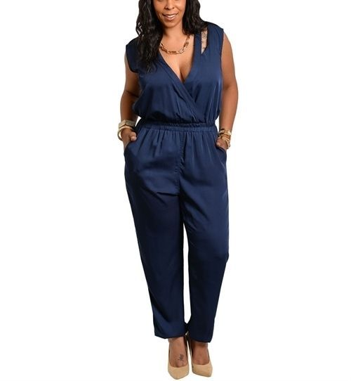 Shop from the world's largest selection and best deals for Plus Size Jumpsuits, Rompers & Playsuits for Women. Free delivery and free returns on eBay Plus items.