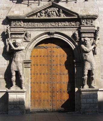 Palacio de los Condes de Morata in Zaragoza, Spain