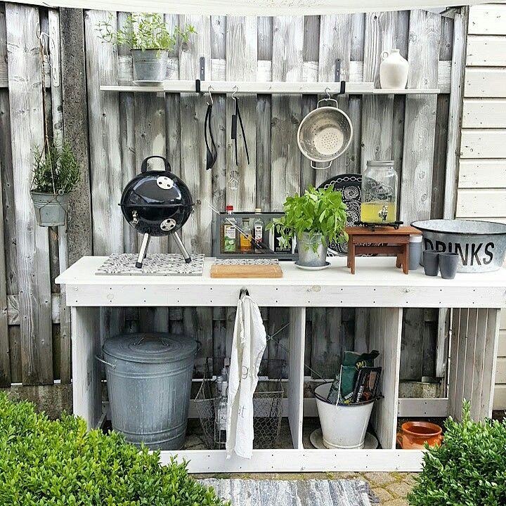 My #diy outdoor kitchen August 2016