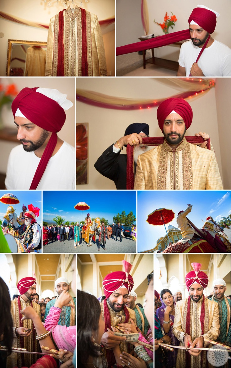 Sonya + Satindar | Sikh Wedding Photos at San Jose Gurduwara