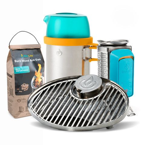 BioLite CookStove Bundle | Grill, Boil, & Cook With Wood ...