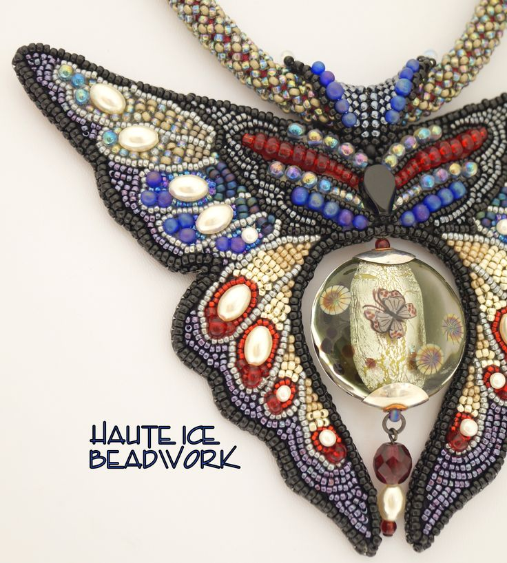 Taking Flight, detail of Jeff Barber's commemorative bead.