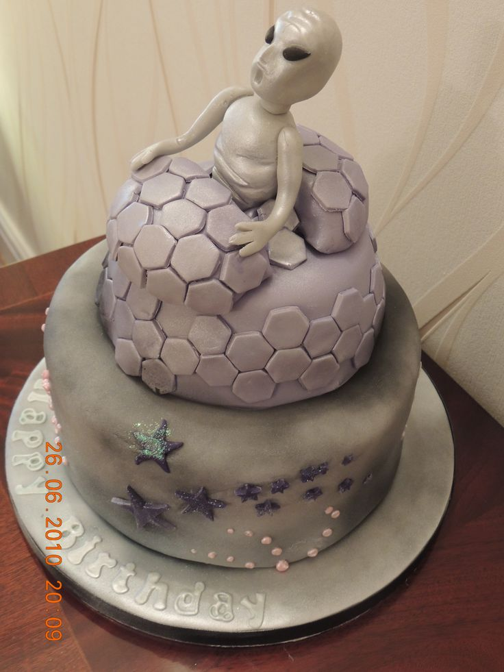 55 best images about alien birthday cakes on pinterest