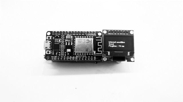 IOT design: Internet speed test with ESP8266