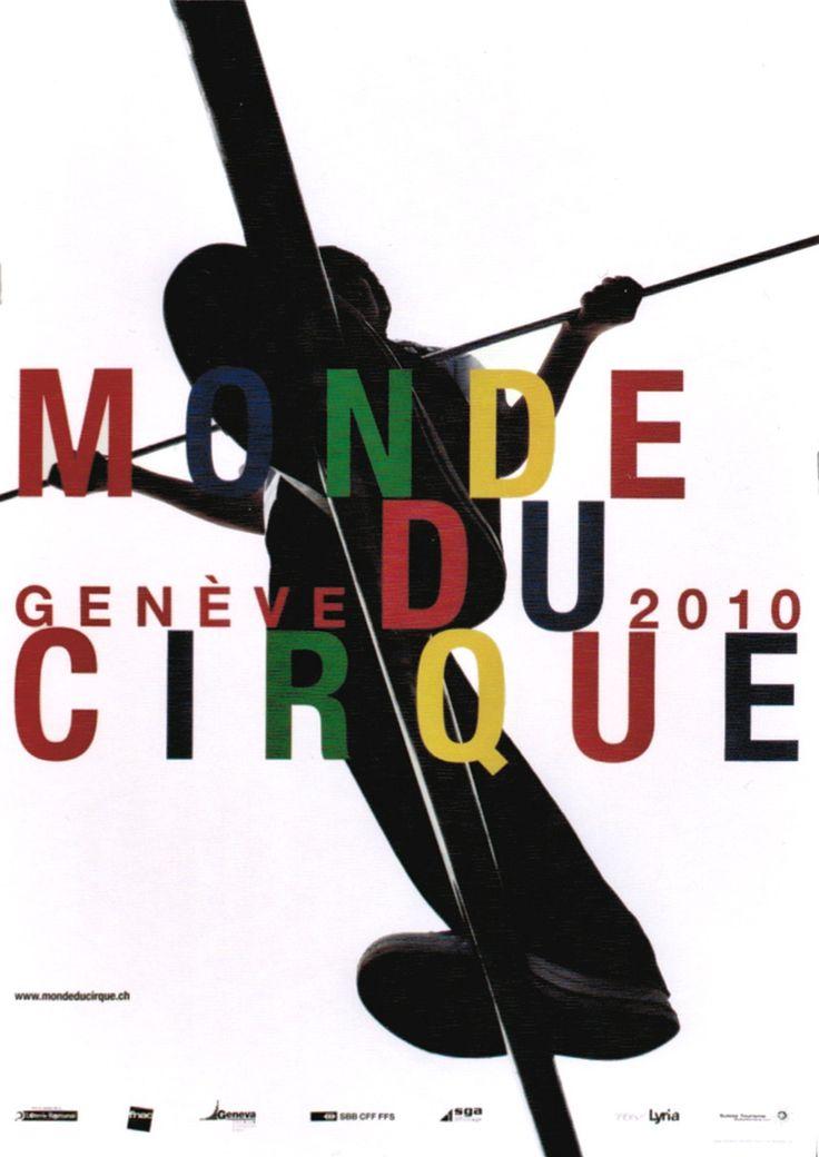 Monde du Cirque, Genève 2010. Werner JEKER (2009)