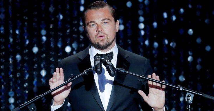 Leonardo DiCaprio pone en duda su imagen de defensor del medioambiente luego de viajar 13.000 km en un jet privado para recoger un premio irónicamente ambiental