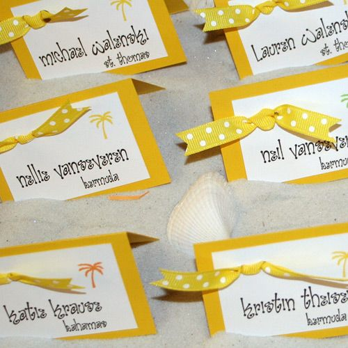 cute name cards