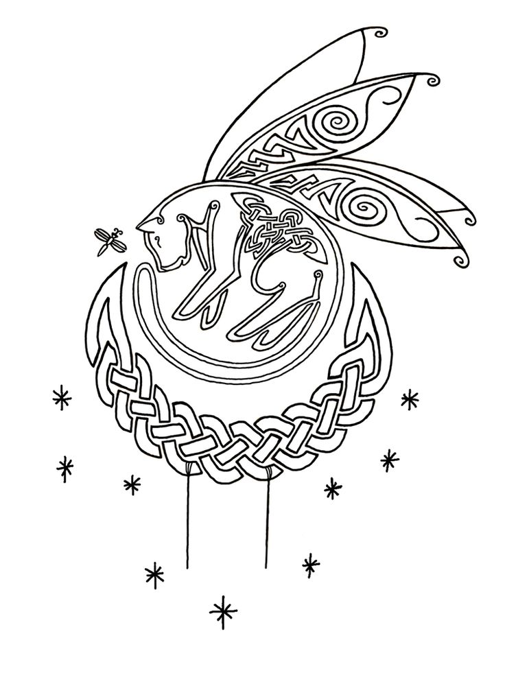 119 Best Images About Coloring Pages Celtic On Pinterest