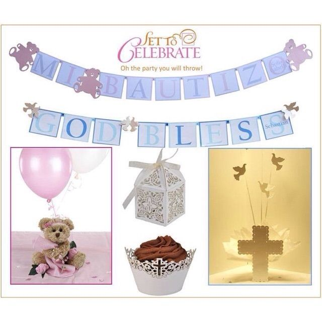 Communion Decorations Supplies First Communion Decorations First Holy Communion Plates Napkins at Set To Celebrate  sc 1 st  Pinterest & 91 best Baptism Decorations Party Supplies and Ideas for ...