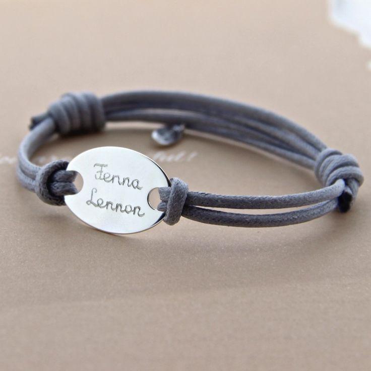 Armband ovaal - mamaloves handgegraveerde, gepersonaliseerde sieraden