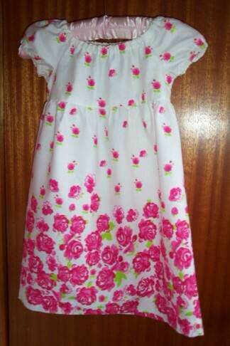 Girls dress made by Aunty Donna
