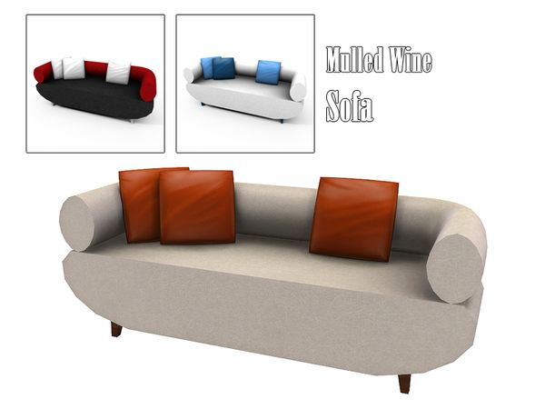 Kiolometro's Mulled Wine Sofa