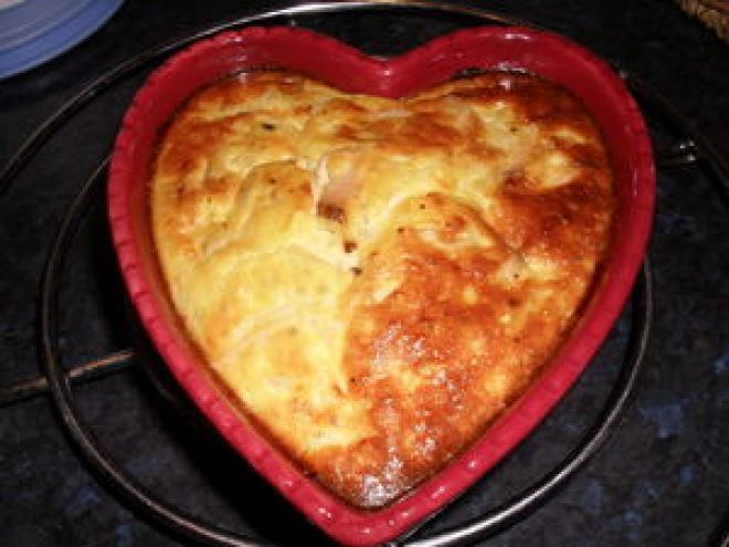 Recette Plat : Flan de jambon dukan par Gibou