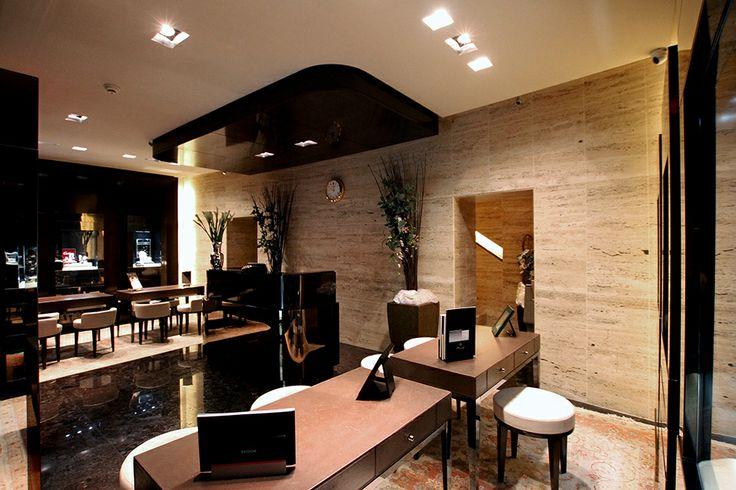 PORTFOLIO STUDIO SIMONETTI: Bartorelli Jewellers, Pesaro, architectural project of interiors, credits Diego Taroni #retailproject #bartorellipesaro #gioielleria