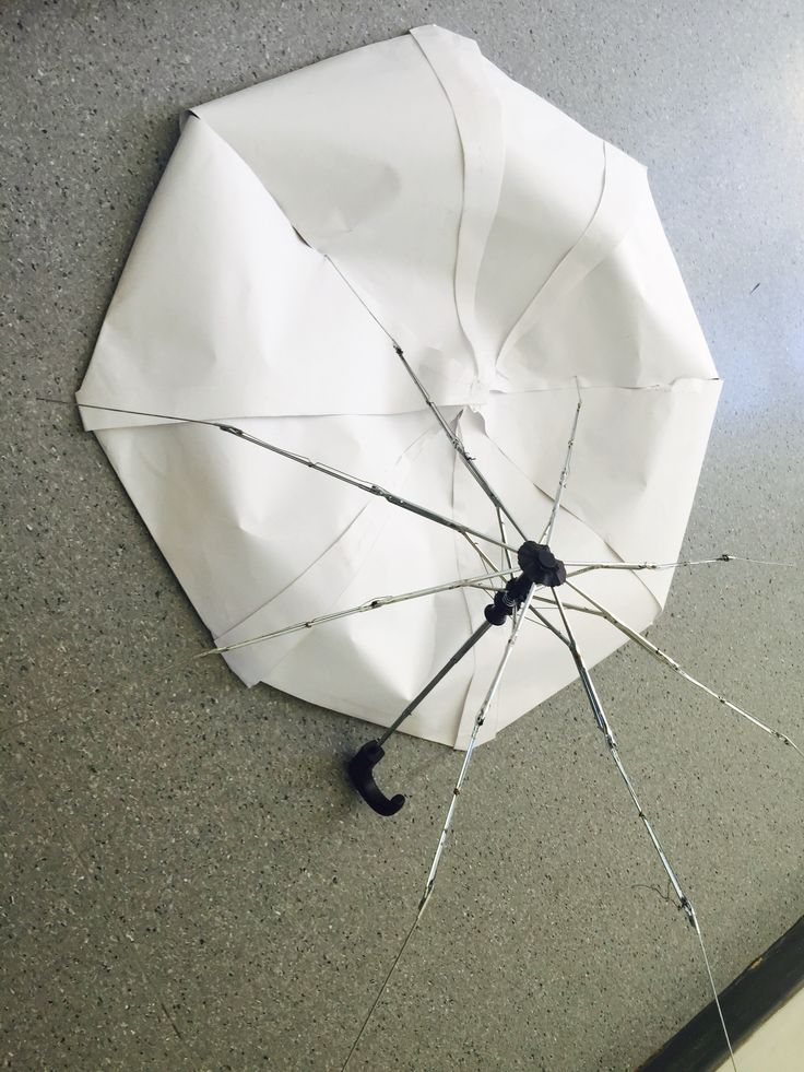 Useless umbrella.