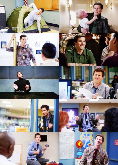 Jake Peralta (Brooklyn Nine Nine) is it wrong that he is literally everything perfect in the world to me?