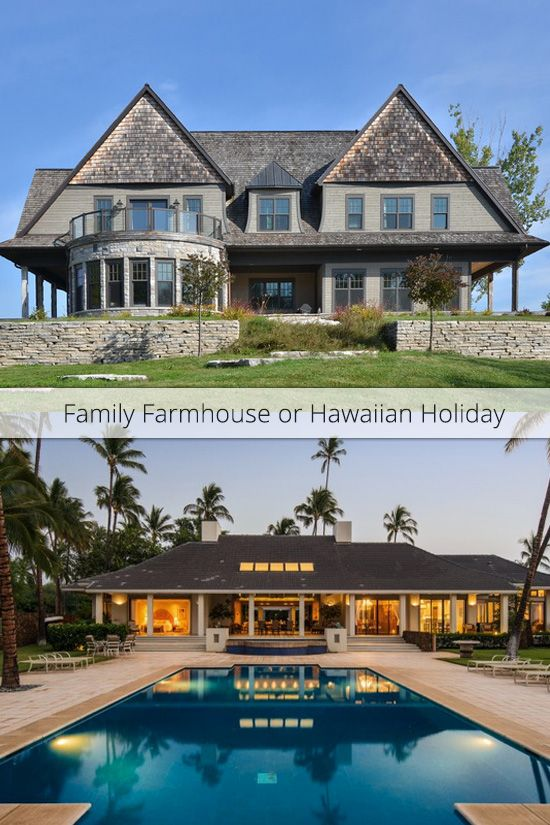 Which would you choose: a Family vacation in Ontario, or an beachfront escape in Hawaii? Learn more about the Creemore Farm: www.demeure.com/properties/creemore-farm And Honuala`i: www.demeure.com/properties/honualai