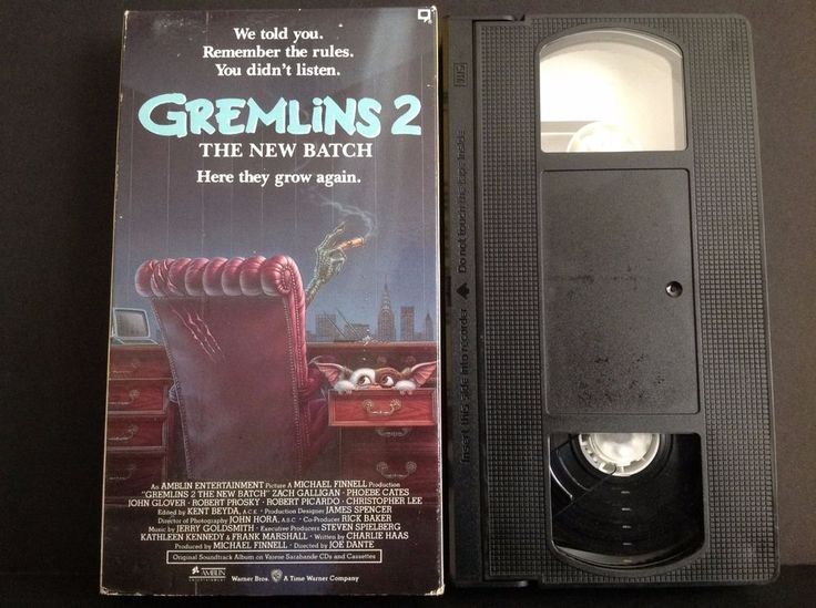Gremlins 2 - The New Batch (VHS, 1990) Leading Role: Zach Galligan, Phoebe Cates