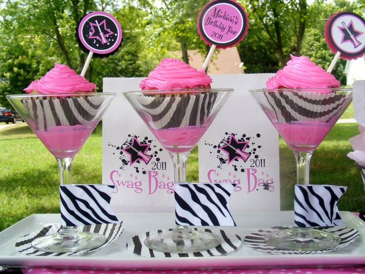162 best Pink Zebra Birthday Party For E images on Pinterest