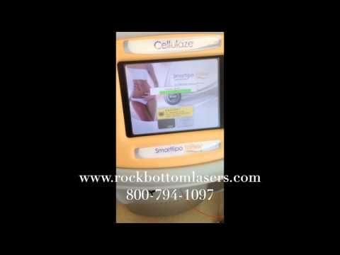 2011 Cynosure SLT II SmartLipo Triplex & Cellulaze Laser For Sale