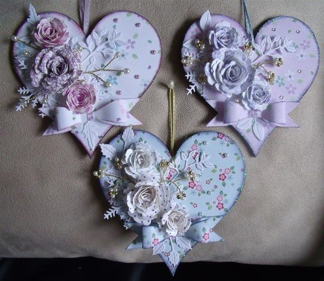 mariecurie fundraising.MDF hearts...   docrafts.com