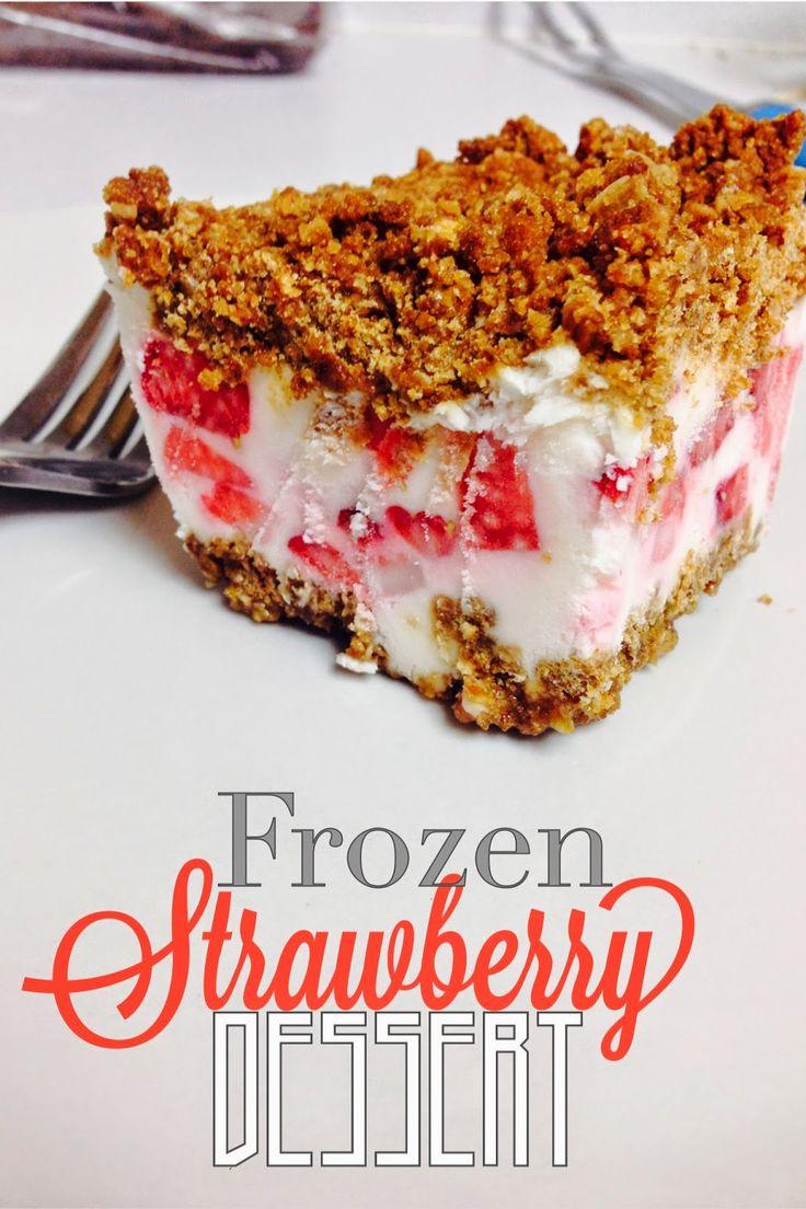 Lou Lou Girls : Frozen Strawberry Dessert
