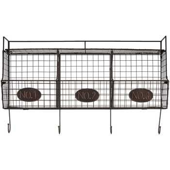 Black Wire Shelf with 3 Wire Baskets - Hobby Lobby - wait for a sale! (reg. $69)